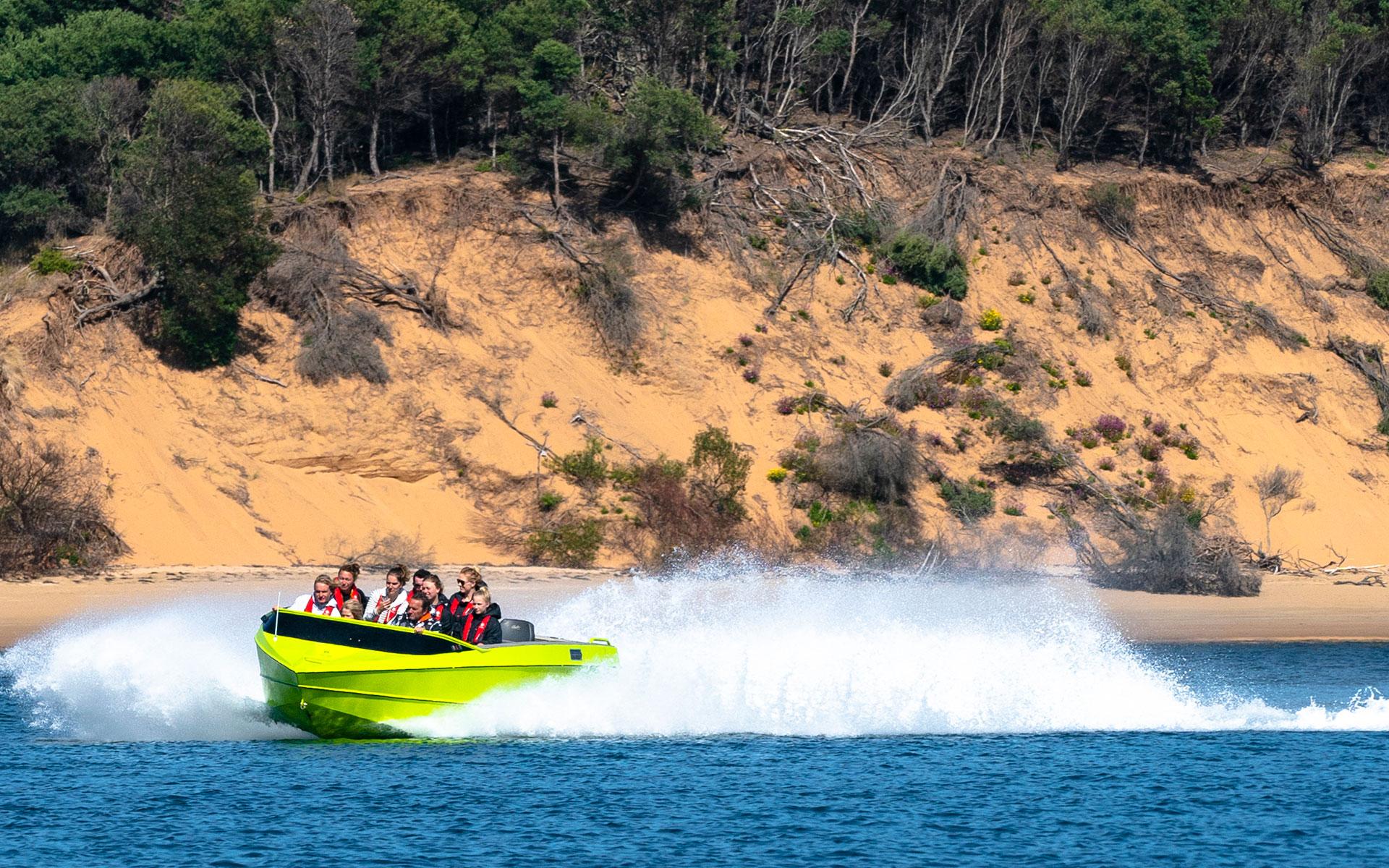 Drift Jet Boat